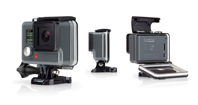 Rent a GoPro action camera