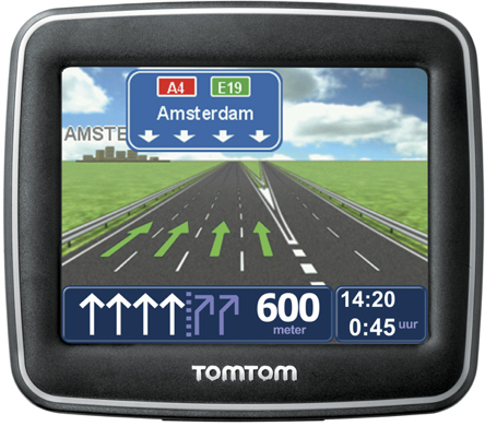 Rent a GPS car navigation TomTom rental